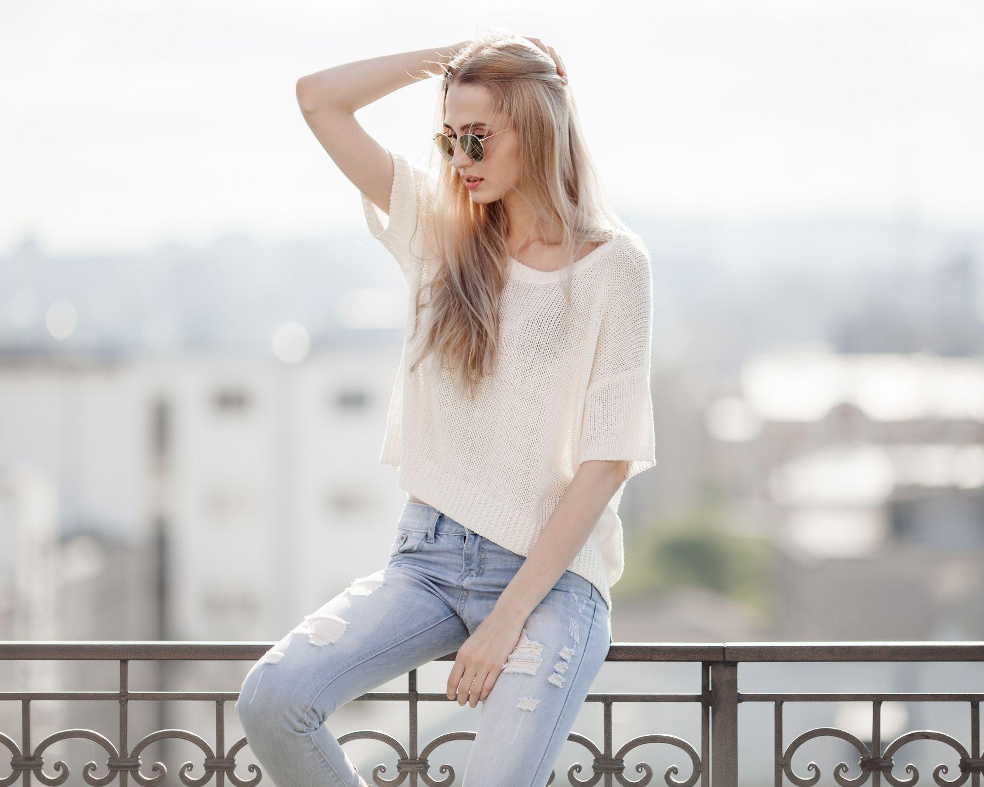 moda per vestire in jeans